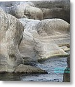 Soothing Water Metal Print