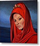 Sophia Loren 2  Metal Print