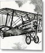 Sopwith F.1 Camel 1917 Metal Print