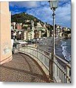 Sori - Sea And Promenade Metal Print