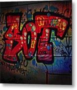 Sot Graffiti - Lisbon Metal Print