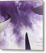 Soul In The Sky - Us Air Force Memorial Metal Print