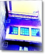See The Soul Of The House In The Windows Metal Print