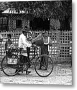 Sound Bike In Burma Metal Print