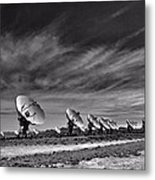 Sound Waves Metal Print