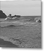 Sounding Sea Metal Print