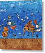 Sounds Blown In The Wind Metal Print