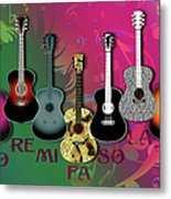 Sounds Of Music - Featured In Newbies Group Metal Print