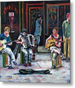 Sounds Of Paris Metal Print