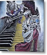 Sounds Of The 70s Metal Print by Carla Carson