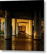 South 1st St. Bridge Metal Print