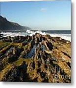 South Africa Coast Metal Print