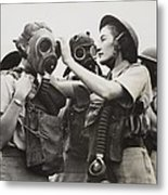 South African Womens Auxiliary Services Metal Print