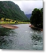 South America - Chile River Metal Print