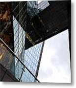 South Bank City Reflections No.3 Metal Print