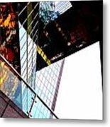 South Bank City Reflections No.4 Metal Print
