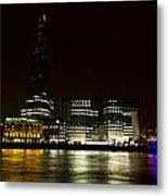 South Bank London Metal Print