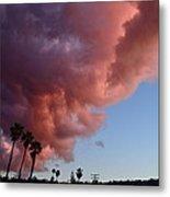 South Bay Clouds Metal Print