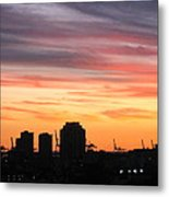 South Beach - 121247 Metal Print by DC Photographer
