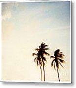 South Beach Miami Metal Print