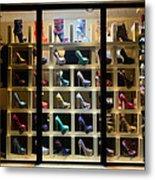 South Beach Walking Shoes Metal Print