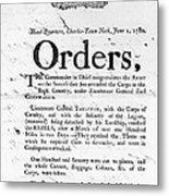 South Carolina, 1780 Metal Print