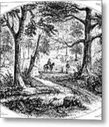 South Carolina Battlefield Metal Print