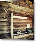 South Carolina Hunting Cabin Metal Print