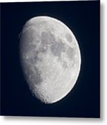 South Dakota Moon Metal Print