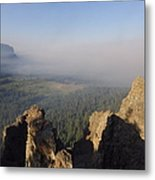 South Fork Fire Metal Print