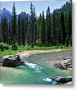 South Fork Payette River Grandjean Metal Print
