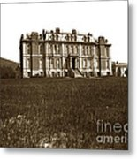South Hall Which Housed The College Of Science University Of Cal Circa 1904 Metal Print