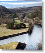South Holston Dam View Metal Print