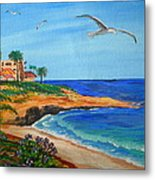 South La Jolla Metal Print