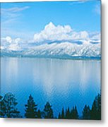 South Lake Tahoe In Winter, California Metal Print