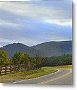South Mountains Nc Metal Print