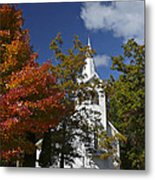South New Hope Church - Fall Metal Print