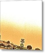 South Of The Border Metal Print