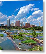 South Of The Rivah Metal Print