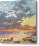 South Padre Island Splendor Metal Print by Carol Reynolds