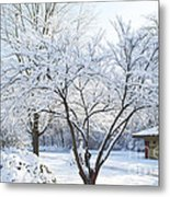 Snow - South Park Wonderland -  Luther Fine Art Metal Print
