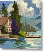 South Shore Big Bear Lake Metal Print