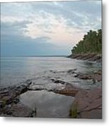 South Shore Of Lake Superior Metal Print