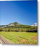 South Sister And Highway Metal Print