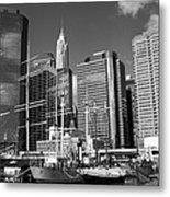 South Street Seaport Metal Print