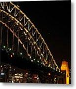 South Sydney Harbour Bridge Metal Print
