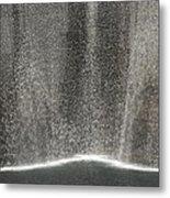 South Tower Rain Metal Print