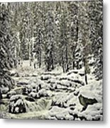South Yuba River Metal Print