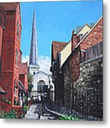 Southampton Blue Anchor Lane Metal Print