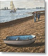 Southampton Weston Shore Metal Print